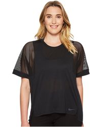 Nike - Breathe Training Top (size 1x-3x) - Lyst