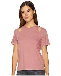 Joe's Jeans - Carlisia Tee (pink Pigment) T Shirt - Lyst