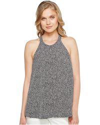 Ellen Tracy - Pleat Front Halter - Lyst