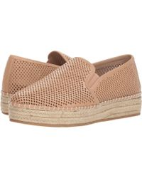 9fe4139c347 Lyst - Steve Madden Wright Perforated Platform Espadrille in Blue