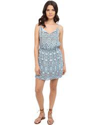 BB Dakota | Stacey Moroccan Tile Twill Dress | Lyst