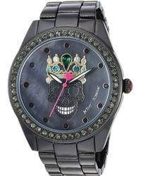 Betsey Johnson - 37bj00131-118 - Kitty Princess Watch - Lyst