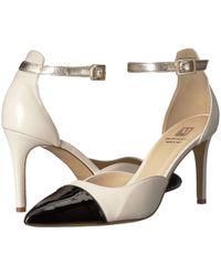 54c35e508c3 Lyst - Bruno Magli Candy Leather Mule