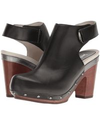 e5fdb7e479c Lyst - Jambu Sugar Leather Wedge Sandal in Black