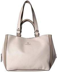 Nanette Lepore Audry Double Handle Shoulder Bag (taupe) Bags