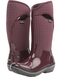 Bogs - Plimsoll Houndstooth Tall - Lyst