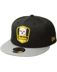 ed1aed9a17e KTZ - 9fifty Official Sideline Away Snapback - Pittsburgh Steelers - Lyst