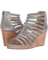 aa8fe91a4d Johnston & Murphy - Geneva (silver Metallic Suede) Clog/mule Shoes - Lyst