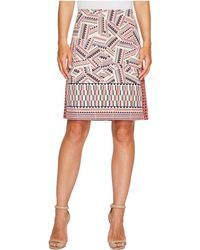 NIC+ZOE - Globe Trotter Skirt - Lyst