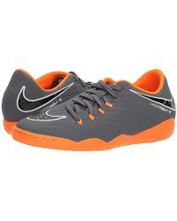 864be33a7dcf Nike - Hypervenom Phantomx 3 Academy Ic (dark Grey/total Orange/white)