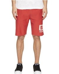 Todd Snyder - Champion Logo Graphic Cut Off Shorts - Lyst
