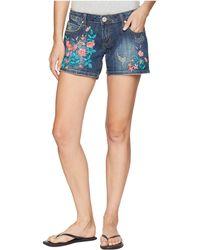 Stetson - Major Grinding Denim (blue) Women's Shorts - Lyst