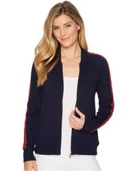 Lauren by Ralph Lauren - Cotton French Terry Track Jacket - Lyst