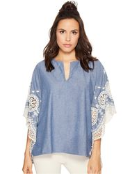 Bishop + Young - Scallop Edge Poncho - Lyst