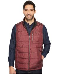 Izod   Reversible Insulated Vest With Rip-stop Nylon   Lyst