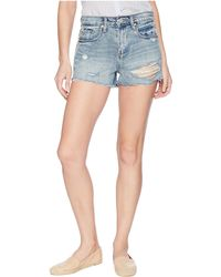 Blank NYC - The Barrow High Rise Short In Now Or Never - Lyst