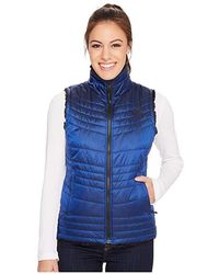 The North Face - Mossbud Swirl Vest (brit Blue) Vest - Lyst