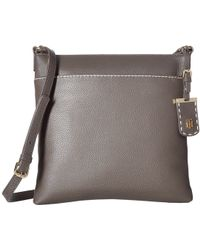 Tommy Hilfiger - Julia Pebble Leather Crossbody - Lyst