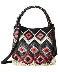 0c8f8df40d3 Tory Burch - Brooke Embellished Small Hobo (black) Hobo Handbags - Lyst
