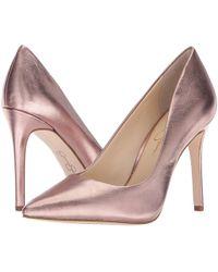 dcb94d2c3dd ... (black Soft Nappa Silk) High Heels - Lyst. Jessica Simpson - Praylee -  Lyst