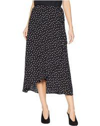 Bobeau - Wrap Skirt Bubble Crepe - Lyst