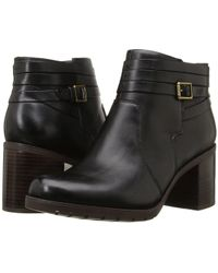 9c8f181cd6c3 Lyst - Clarks Women s Malvet Helen Ankle Boot in Black