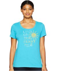 Life Is Good. - Live On The Sunny Side Crusher Scoop Neck T-shirt - Lyst