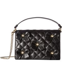 Boutique Moschino - Quilted Bow Bag - Lyst