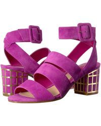 B Brian Atwood | Baily Ankle Strap Sandals | Lyst