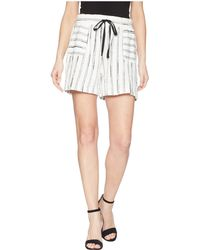 Two By Vince Camuto - Nubby Stripe Drawstring Shorts - Lyst