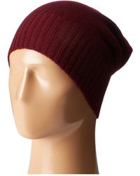 Hat Attack - Cashmere Slouchy - Lyst