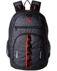 30421b5896c Steve Madden Striped Jersey Backpack in Blue - Lyst