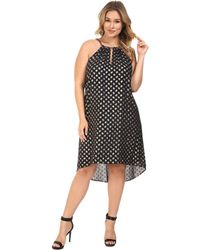 MICHAEL Michael Kors - Plus Size Bergalia Foil Dress - Lyst