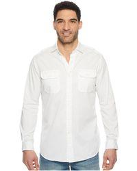 dbbfdaa6b Polo Ralph Lauren - Garment Dyed Chino Long Sleeve Sport Shirt - Lyst