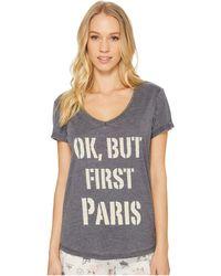Pj Salvage - Love Revolution Paris Shirt - Lyst