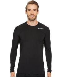 Nike - Pro Hyperwarm Long Sleeve Top - Lyst