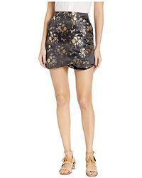811f2ac5f3 Bebe - Jacquard Mini Skirt (catelyn Jacquard) Skirt - Lyst