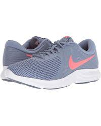 7c891bacfb Nike - Revolution 4 (ashen Slate/flash Crimson/diffused Blue) Running Shoes