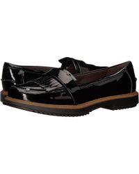 6ba35251529 ... Eletta (black Leather) Women s Slip On Shoes - Lyst · Clarks - Raisie  Theresa - Lyst