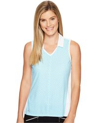 adidas Originals - Climachill Fashion Sleeveless Polo - Lyst