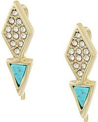 Vera Bradley | Triangle Stud Earrings | Lyst