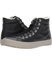 Converse - Chuck Taylor® All Star® Boot Pc Tumbled Leather Hi - Lyst