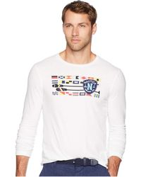 cf219a7db658 Lyst - Hurley One And Only Long-sleeve T-shirt in Blue for Men