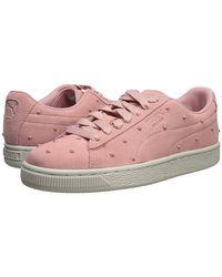 e6b3a3ba2d82 PUMA Suede Classic Sneaker Bridal Rose-grey Violet - Lyst