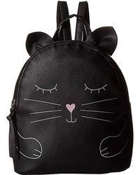 T-Shirt & Jeans - Hugging Cat Backpack (black) Backpack Bags - Lyst