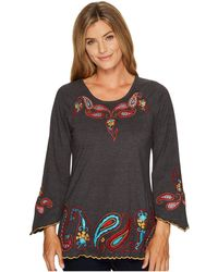 Scully | Anara Embroidered Tunic | Lyst