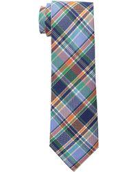 Lauren by Ralph Lauren - Shirting Plaid Cotton Tie - Lyst