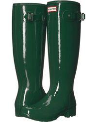 HUNTER - Original Tour Gloss Packable Rain Boot - Lyst