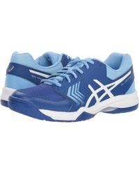 805608d9e3802e Lyst - Asics Gel-dedicate 5 Tennis Shoes in Blue