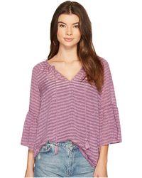 Kensie - Ribbon Stripe Top Ks9k4317 - Lyst